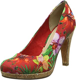 22412, Escarpins Femme, Multicolore (Multicolour 990), 37 EUMarco Tozzi