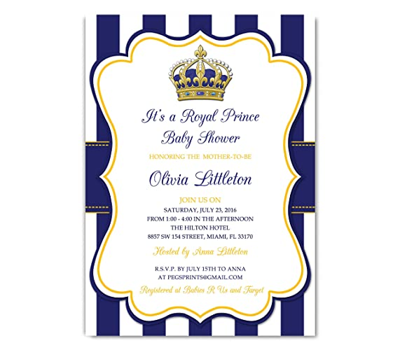 crown shower invitations staggering baby princess invitation pink gold little and royal