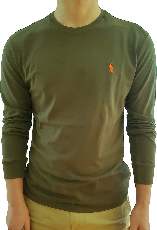 Polo Ralph Lauren - Camiseta de manga larga para hombre - Verde ...