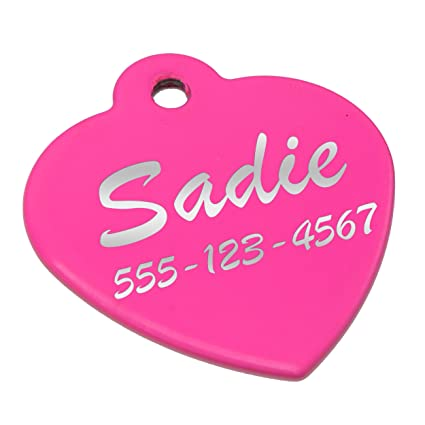 a7f264046dcd Custom Engraved Pet ID Collar Tag - Personalized Identification Tags for  Dogs, Cats, Pets