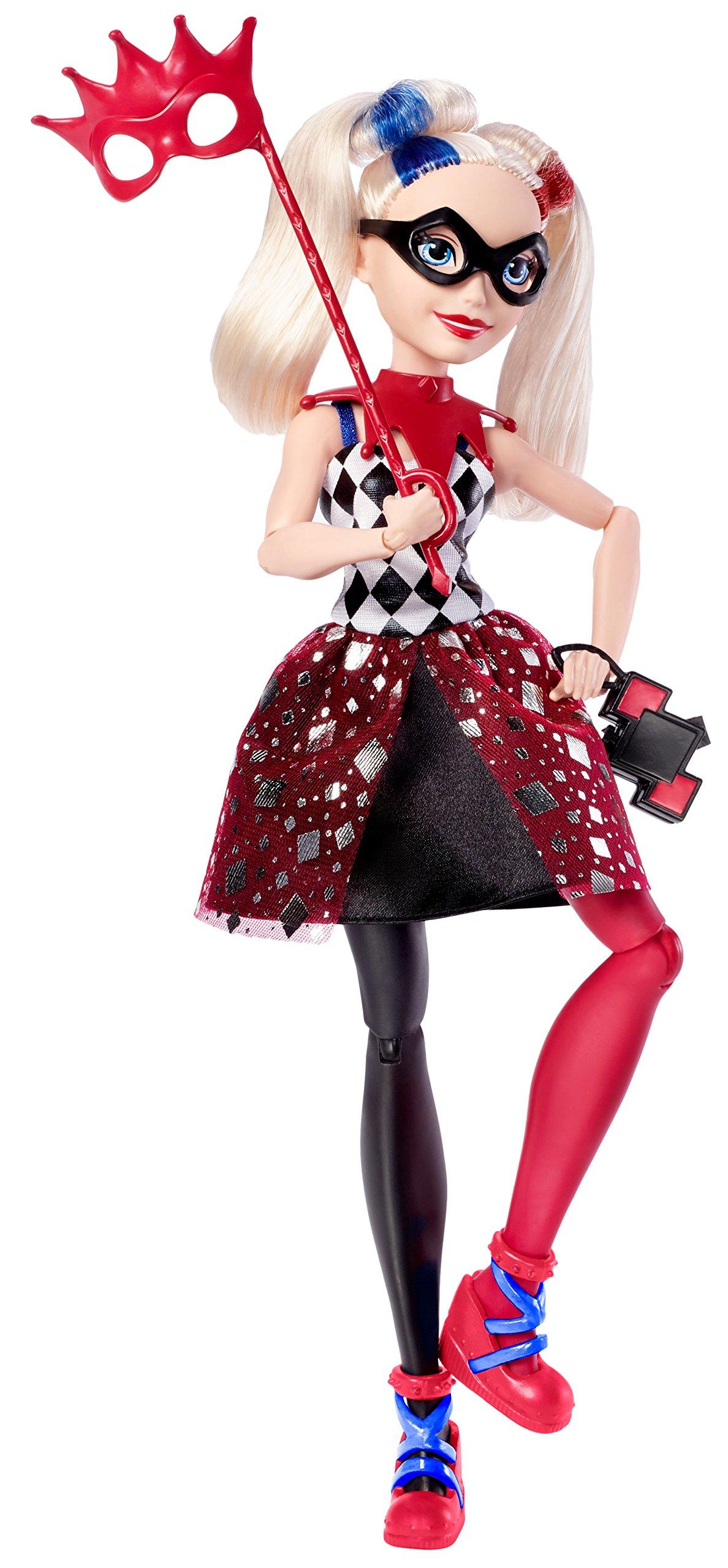 DC Super Hero Girls Harley Quinn Masquerade Doll