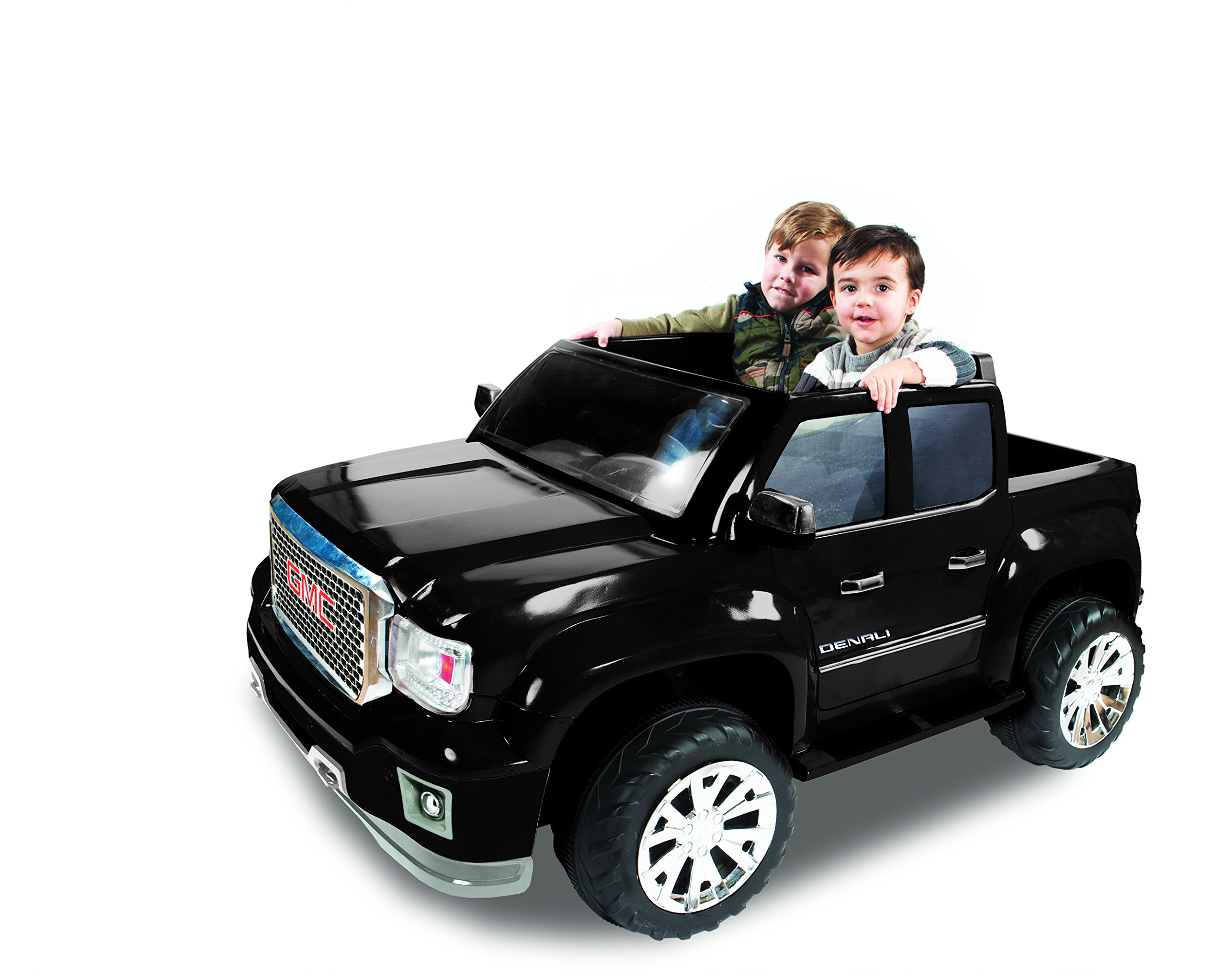 Rollplay GMC Sierra Denali 12-Volt Battery-Powered Ride-On, Black by Rollplay (Image #4)
