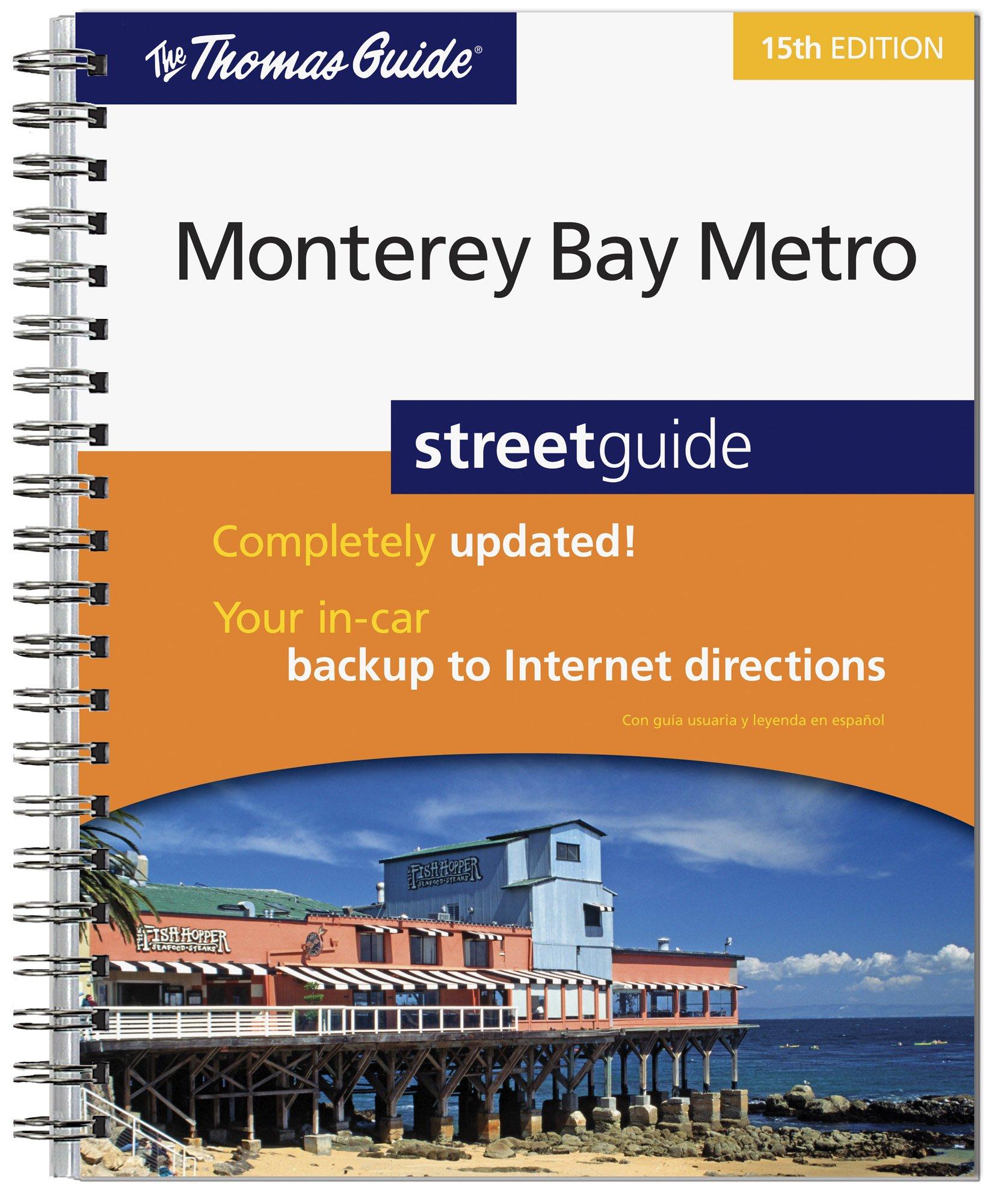 Download The Thomas Guide Monterey Bay Metro Streetguide pdf epub