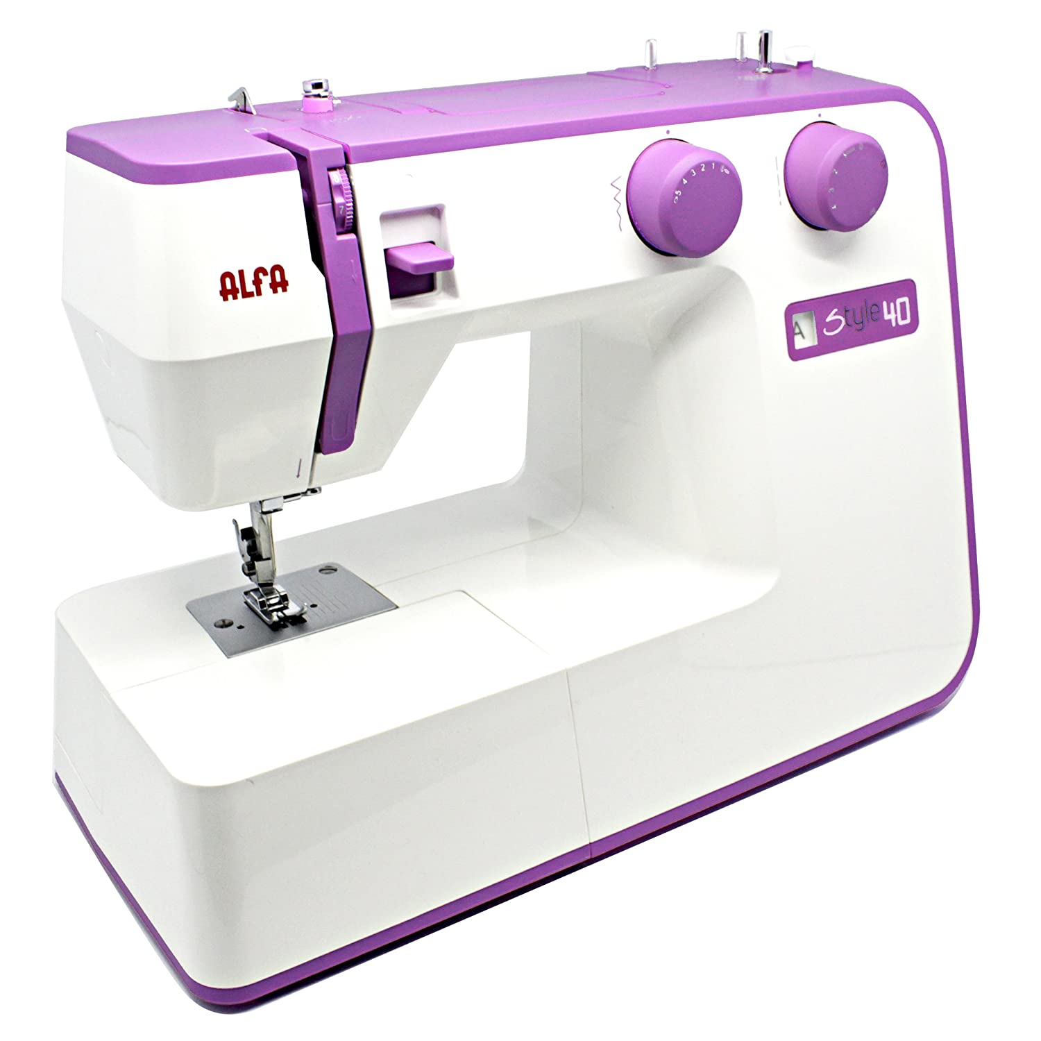 Alfa Style Sewing Machine Instructions May Not Be In English Berry