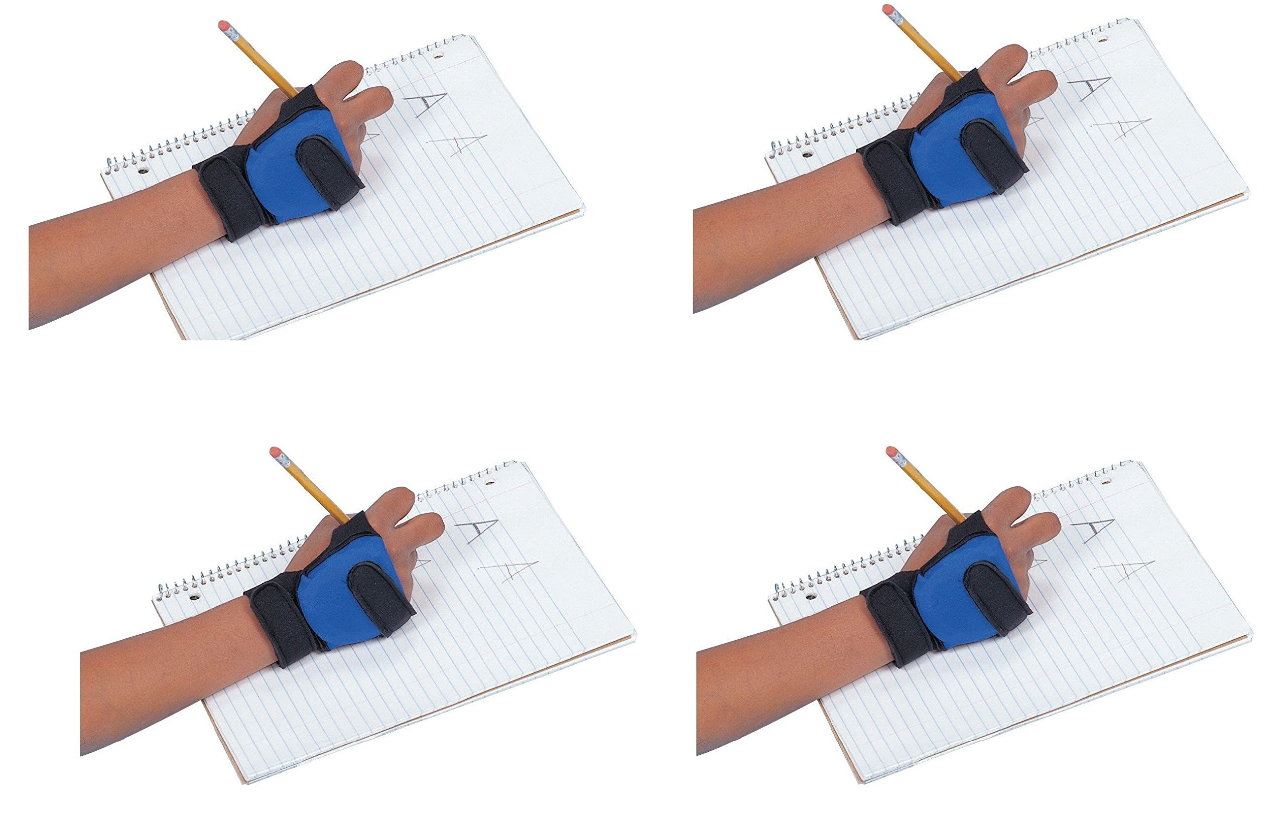 Abilitations 026712 Child Size Write Weight, Right Hand, 0.5 Pound (4 pack)