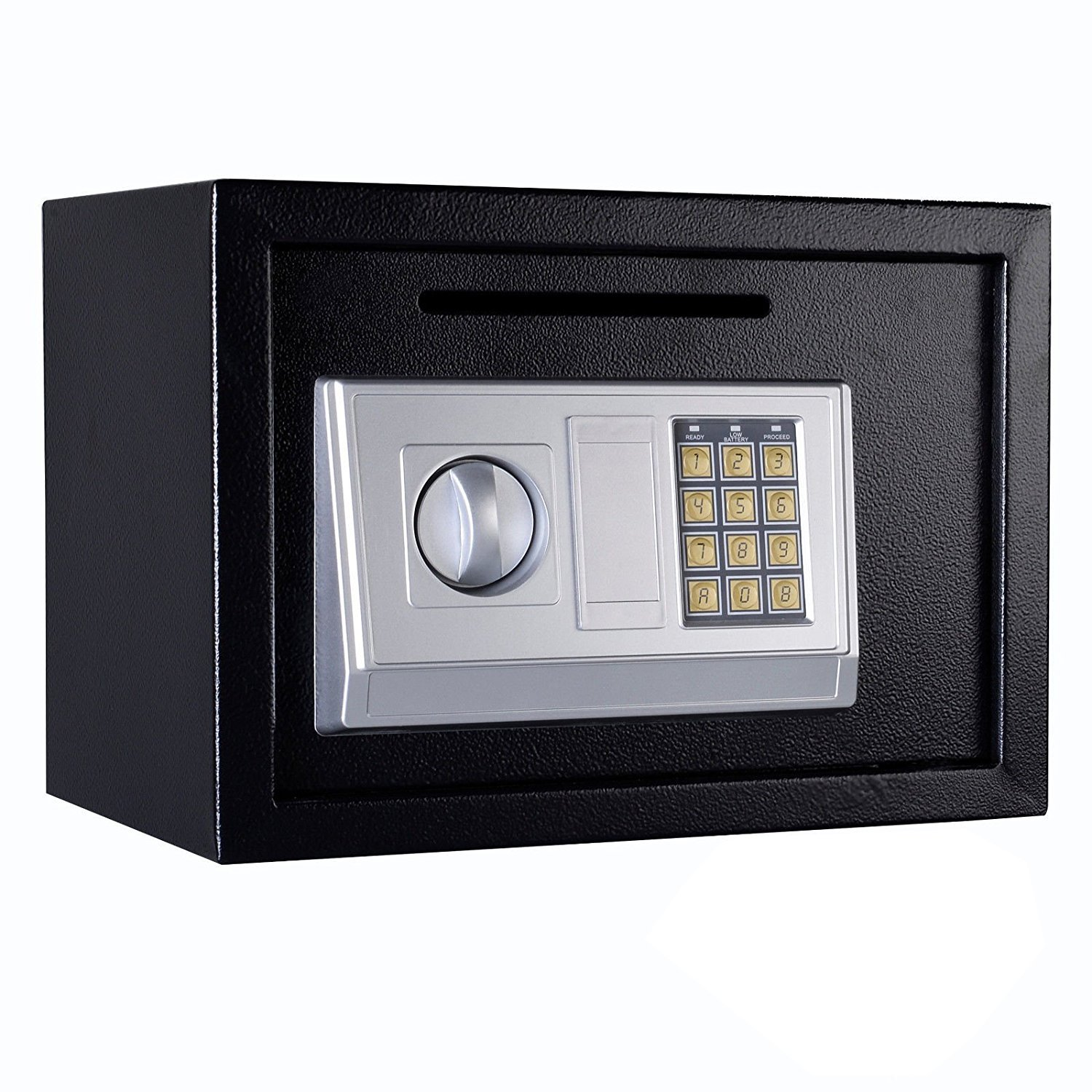Safe Box Electronic Digital Lock for Valuable Storage with Posting Slot, 0.8 Cubic Feet