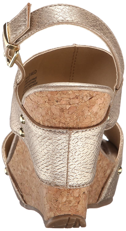 d68d6add2ba Amazon.com | Kenneth Cole REACTION Women's Sole-O Wedge Sandal | Platforms  & Wedges