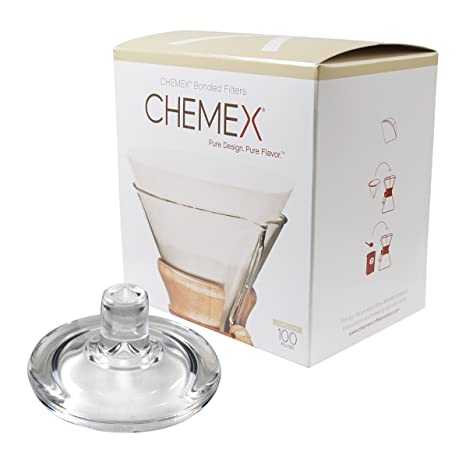 Amazon.com | Chemex Glass Coffee Maker Cover and 100 Count ...