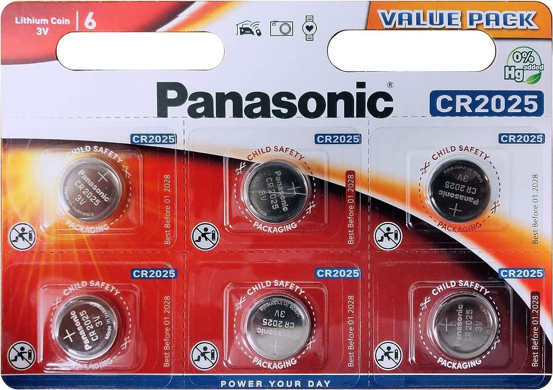 Panasonic Cr2025 Mehrzweck Batterien Lithium Elektronik