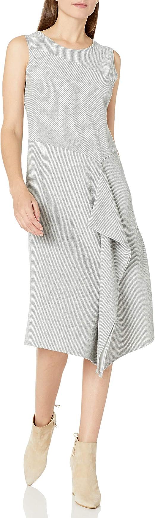 Calvin Klein 卡尔文克莱因 CK 无袖条纹 女式连衣裙 XS码2.1折$31.2 海淘转运到手约¥251