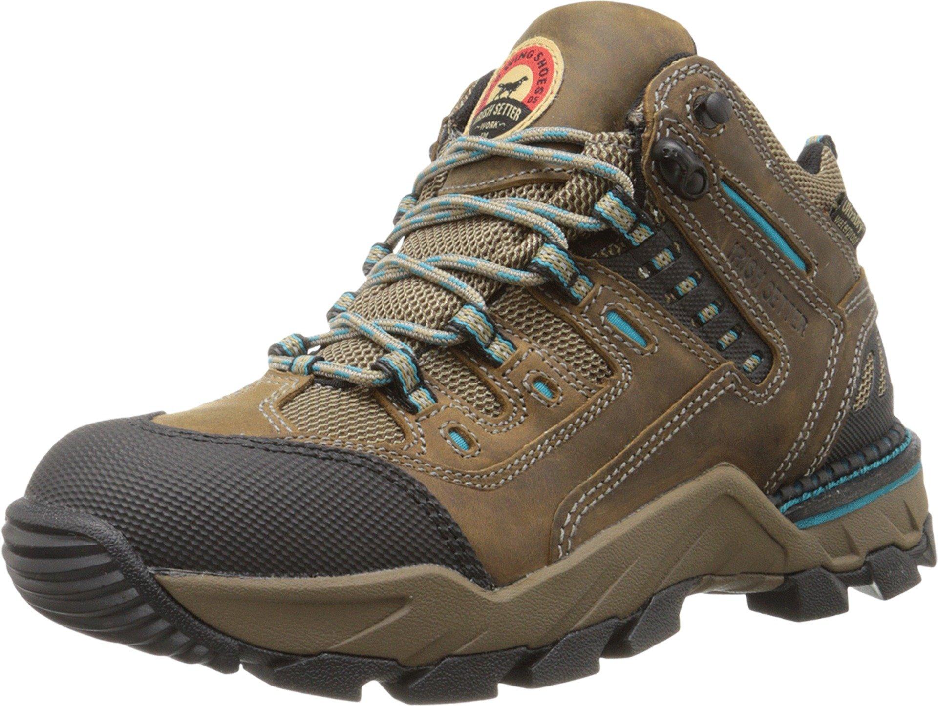 Irish Setter Women's WP Hiker 83205 Brown Athletic Shoe