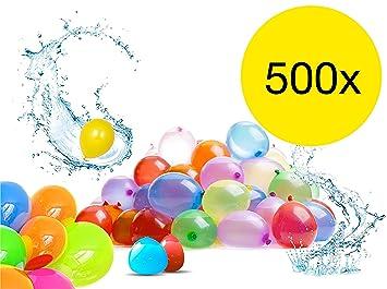 Spielzeug & Modellbau (Posten) Spielzeug 500 x Wasserbomben Wasserbombe Wasserballons Bunt Water Bombs Wasser Bombe