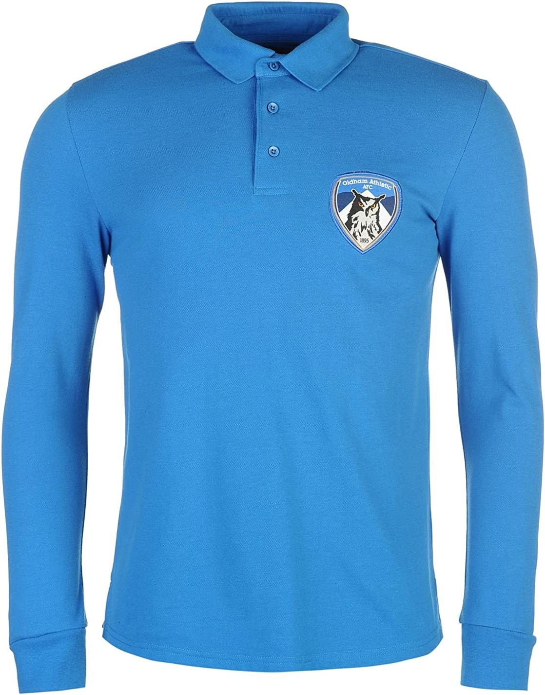 Team Hombre Athletic Futbol Club Polo Camisa Casual Mangas Largas ...