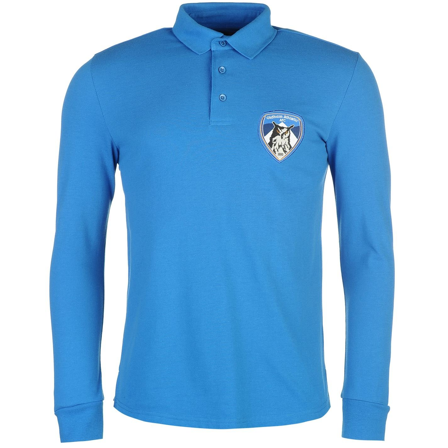 Team Hombre Athletic Futbol Club Polo Camisa Casual Mangas Largas ...