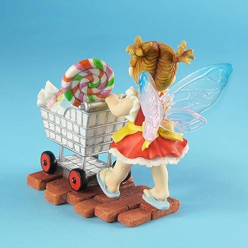 Enesco My Little Kitchen Fairies from Sweetie Shopper Fairie Figurine 4.25 in