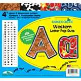 "Barker Creek - Office Products 4"" Poster Letters & Bulletin Board Letter Pop-Outs, 255-Characters (LL-1714)"