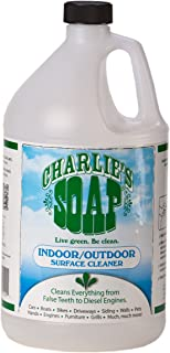 product image for Charlie's Soap Concentrated Indoor/Outdoor Surface Cleaner (4 Gallons) (CHA-11401)