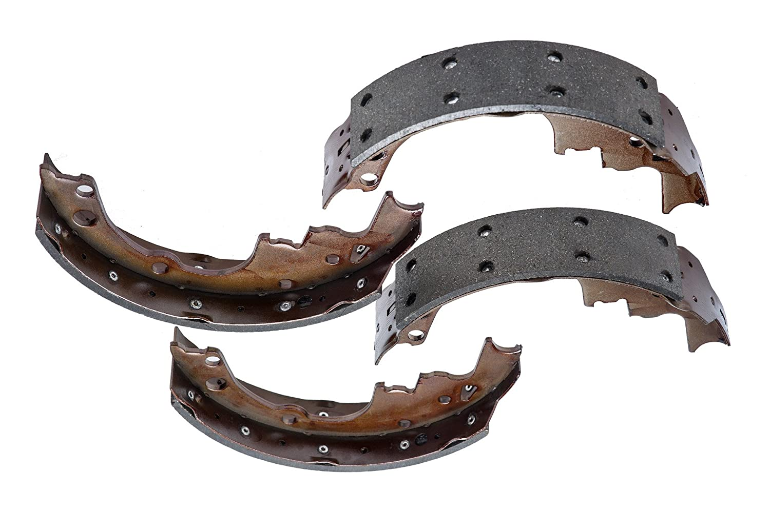 Dash4 R729 Riveted Style Brake Shoes