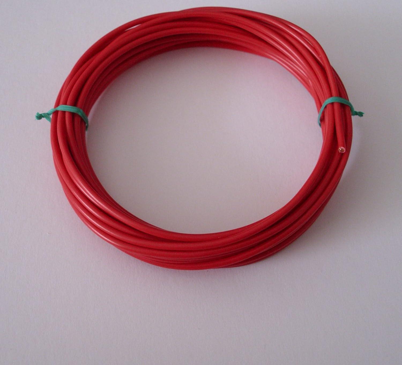 10m ( € 0, 52/m ) 0, 75mm² Kfz Kabel Litze Flry Rot (w. Längen siehe Beschreibung) AIV