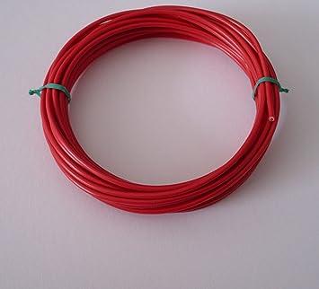 10m 2,5mm² Kfz Kabel Litze Flry Rot: Amazon.de: Elektronik