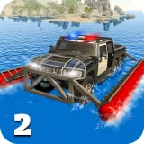 6x6 Offroad Truck Police Chase Game