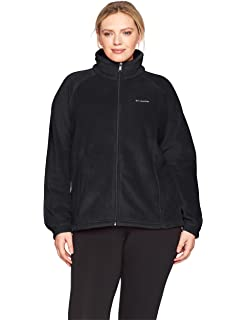 53b5551f865 Columbia Women s Plus Size Tested Tough in Pink Benton Springs Full Zip  Jacket