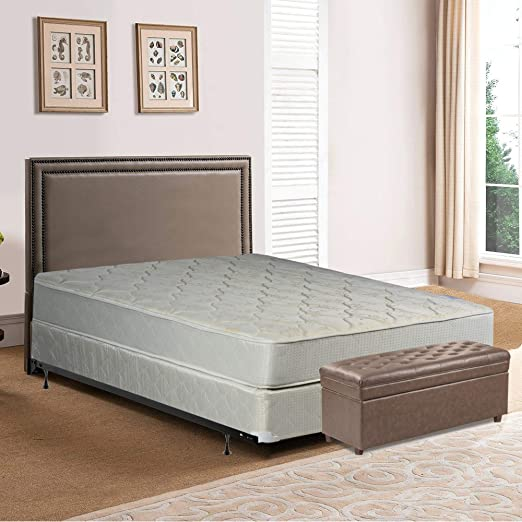 Amazon Com Spring Solution Mattress 9 Inch Fully Assembled
