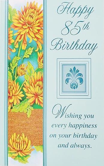 Amazon.com: Happy 85th cumpleaños tarjeta de felicitación ...