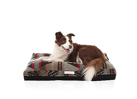 Laifug Cama de Espuma viscoelástica de Doble Cara para Mascotas y Perros con Funda Extraíble Lavable