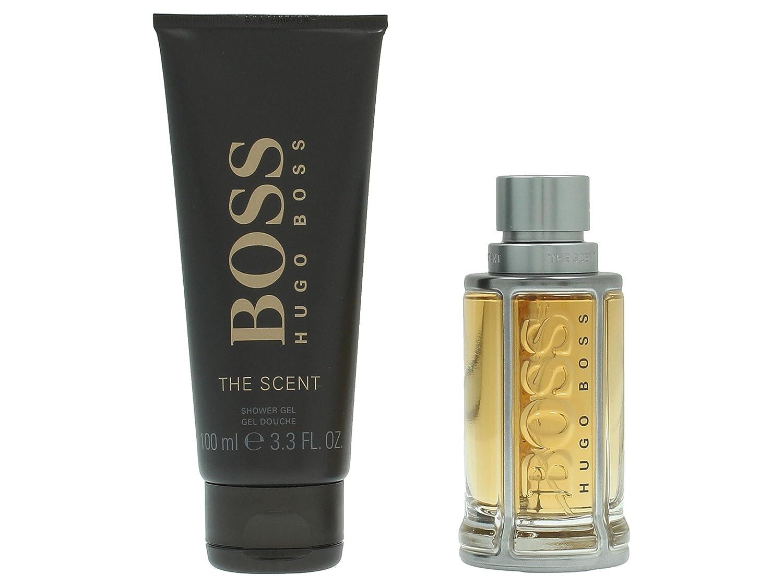 Hugo Boss The Scent Geschenkset Eau de Toilette 50ml, Shower gel 100ml 0730870155738 BSS00123