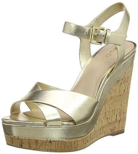 54ac769b2c38 Aldo Women s Madyson Ankle Strap Sandals  Amazon.co.uk  Shoes   Bags