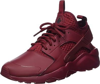 Nike Air Huarache - Zapatos de correr para hombre, Rojo, 9.5