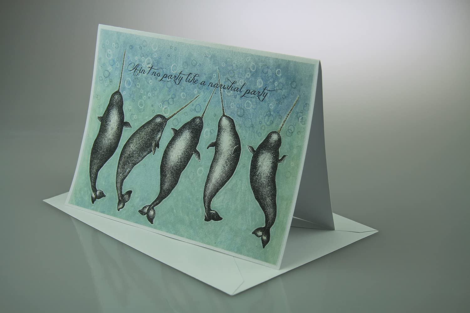 Ain't No Party Like a Narwhal Party card