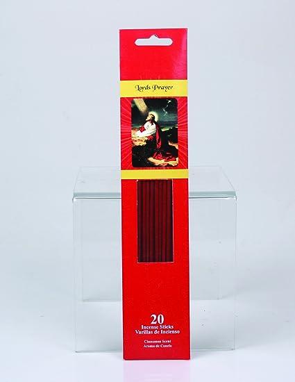 Jodhpuri 120 Religious Incense Sticks (6 packs of 20) (Lord's Prayer  (Cinnamon))