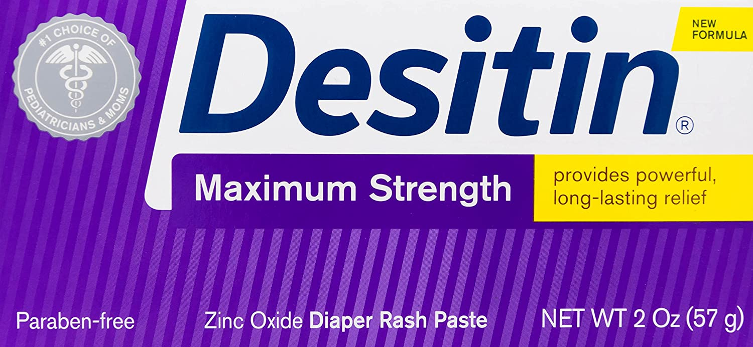 Desitin Diaper Rash Ointment, Original-2 Ounces J&J CONSUMER INC 4350749402