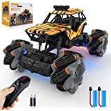 Growsly Remote Control Car, High Speed Rc Car for Kids Adults 1:18 Scale 2.4 GHz 360° Spins Off Road Hobby Rc Truck…