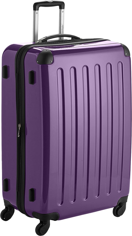 Hauptstadtkoffer Alex, Maleta a Mano Rígida, Morado (Purple), 75 cm