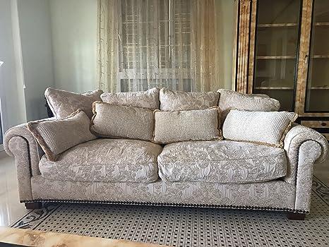 Sofa 2 Plazas Tecni Nova Tela Brocada: Amazon.es: Hogar
