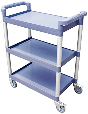 Amazon.com: New Star 54545 Utility Bus Cart With Locking Casters ...