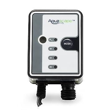 amazon com aquascape light sensor photocell with digital timer for