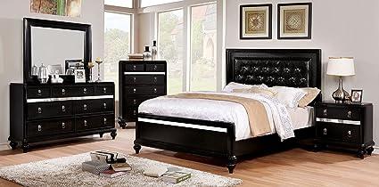 Amazon.com: Esofastore Glamorous Classic Bedroom Furniture ...
