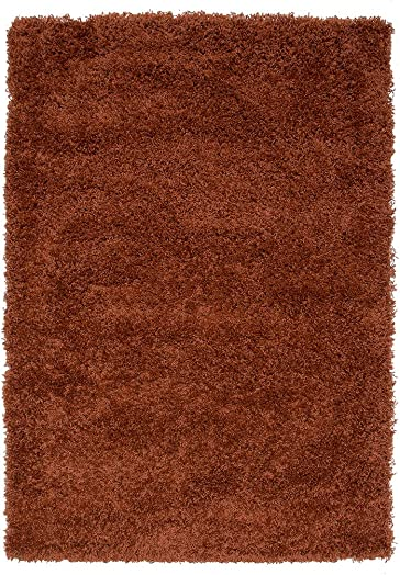 Soft Non Shed Thick Plain Easy Clean Shaggy Area Rugs Ontario – 16 Colours and 14 Terra 2 x 3 7