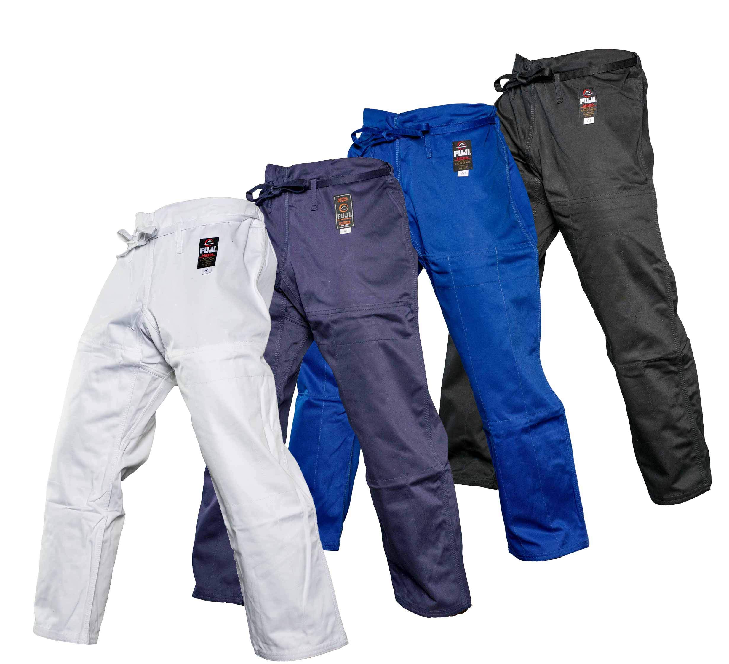 Fuji BJJ Gi Pants,Blue,A4 by Fuji