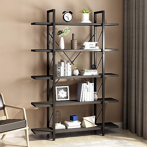 YITAHOME 5 Tiers Bookshelf