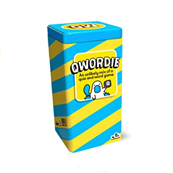 Qwordie: the Quiz and Word Family Board Game