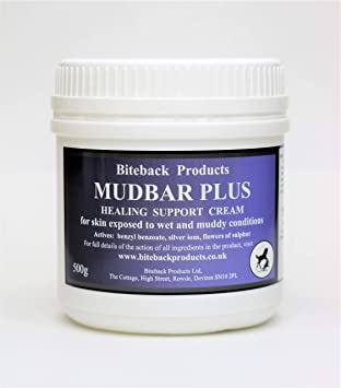 Biteback Products Mudbar Plus Crema para el cuidado de la piel para barro de
