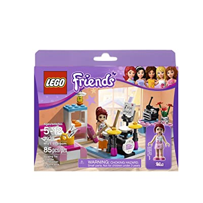 LEGO Friends 3939 Mia's Bedroom: Toys & Games