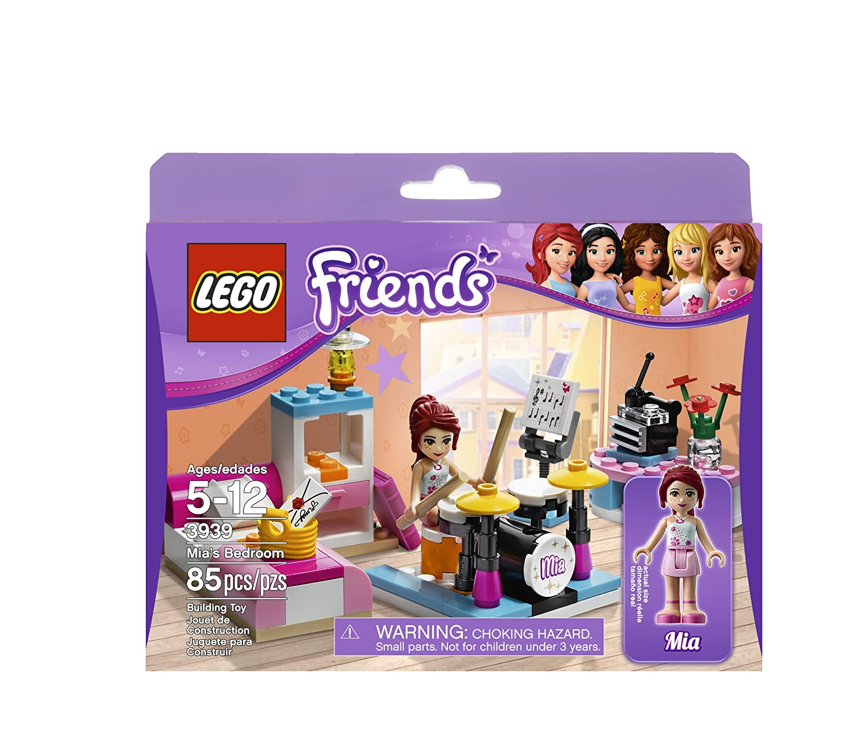 Amazoncom Lego Friends 3939 Mias Bedroom Toys Games
