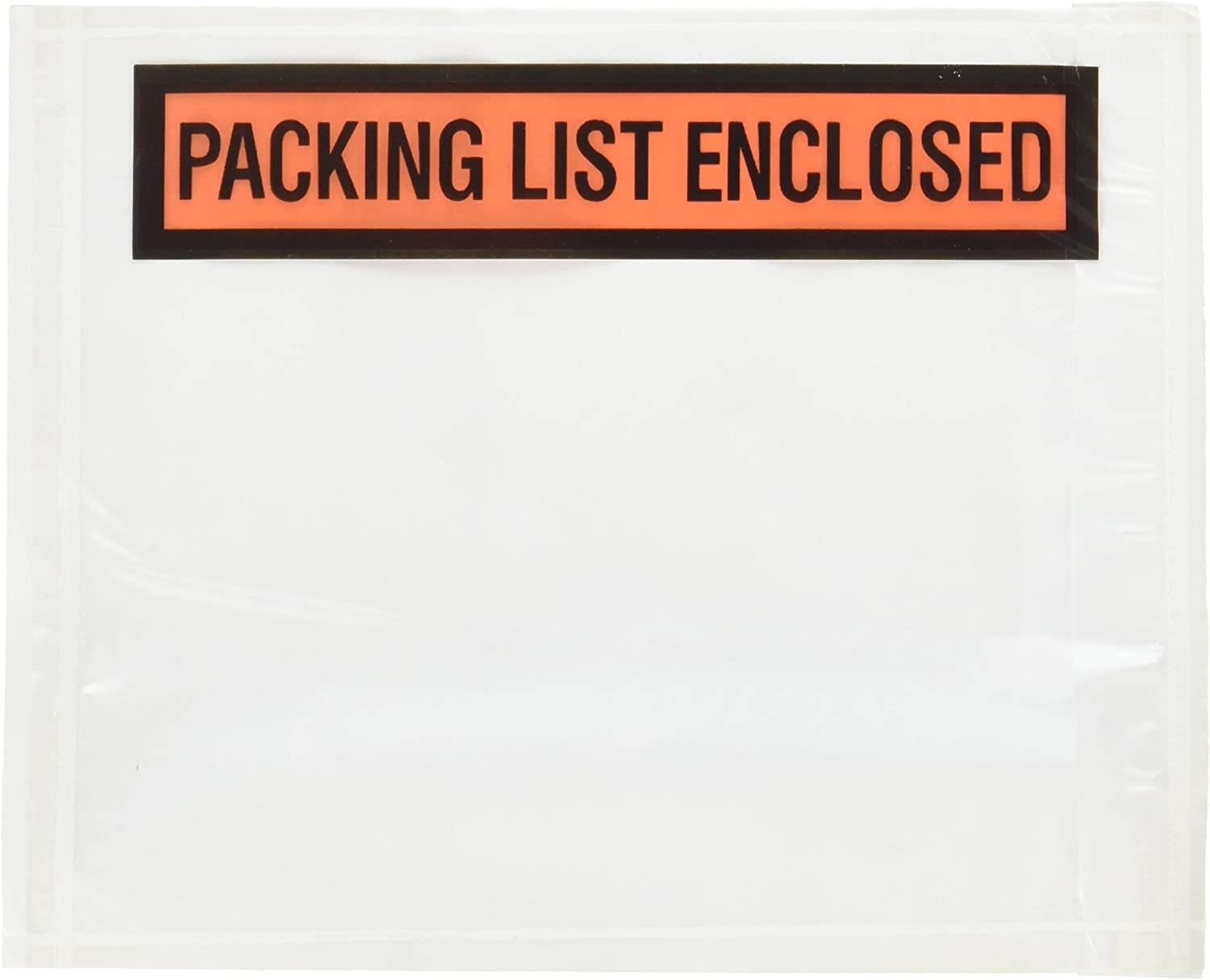 """BOXPQ12 - 4-1/2"""" x 5-1/2"""" Packing List Enclosed Envelopes (1000/case) : Packing Slip Pouch : Office Products"""