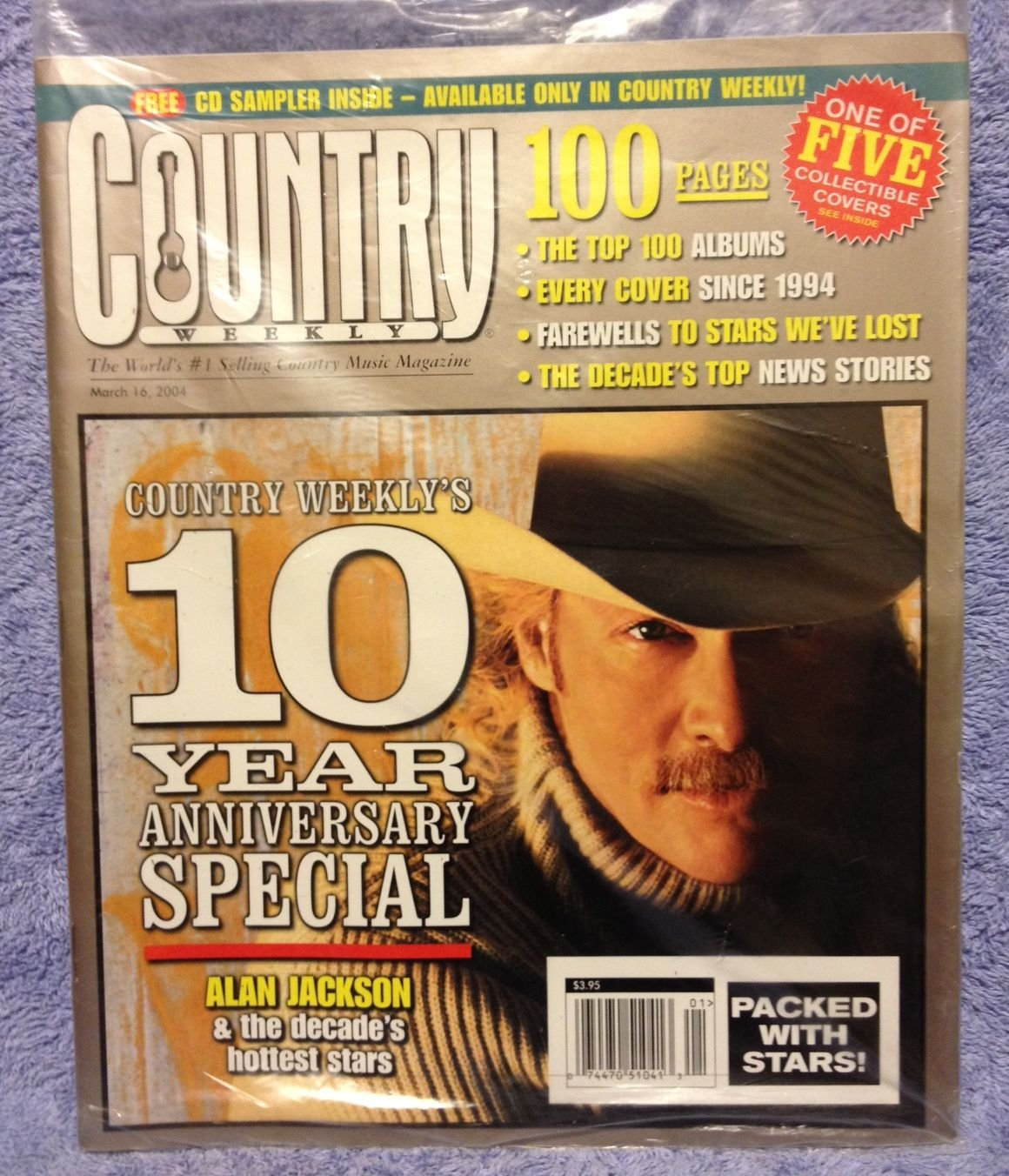 Country Weekly Magazine - March 16, 2004 Issue (Alan Jackson Cover) PDF